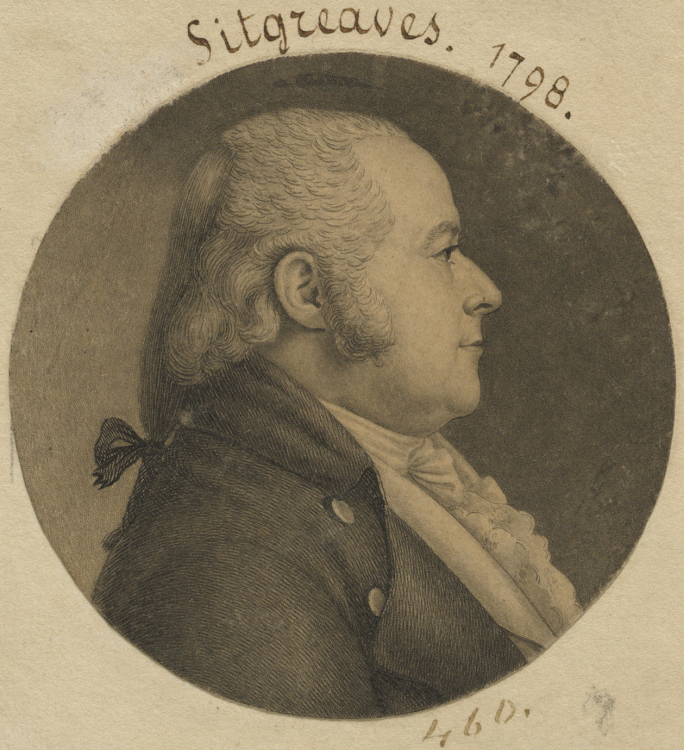 Samuel Sitgreaves - Leading citizen of Easton who worked with President John Adams