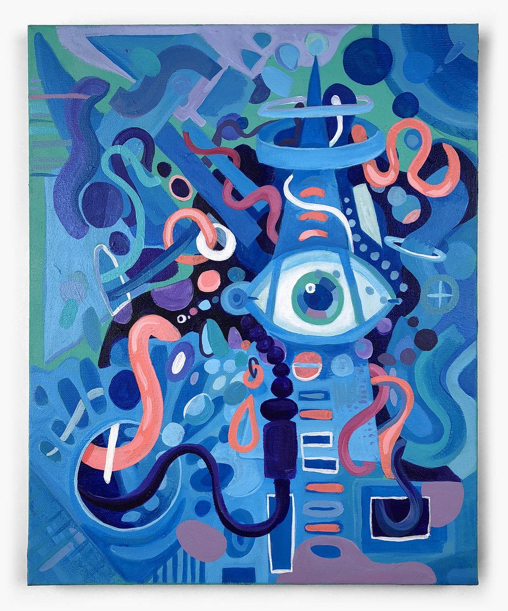 Entropy in blue
