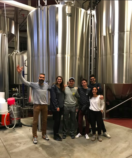 Ithaca Brewing Co. - Our brewing team consulting with Ithaca Brewing Co., a local brewery