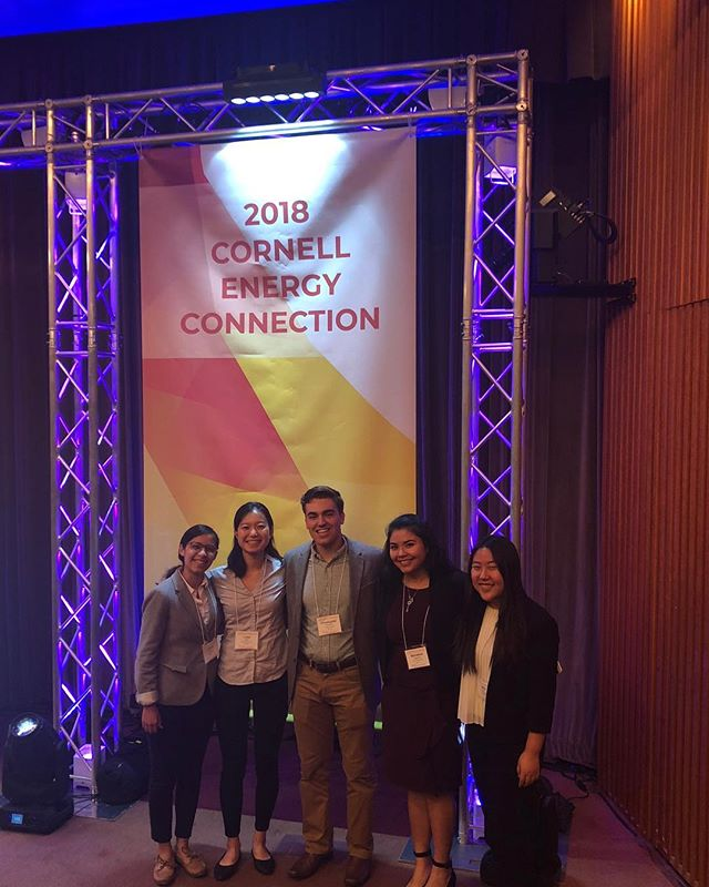 CSC members traveled to NYC on Friday to partake in the 2018 Cornell Energy Connection. After hearing from experts in the energy sector, conversing with diverse stakeholders, and learning about innovative technologies that are working to achieve environmental/economic goals, the team has been equipped with a unique lens on sustainable development!