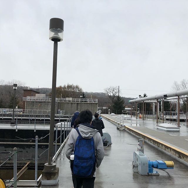 This week, members of the SWEEP team toured The Ithaca Area Wastewater Treatment Facility (IAWWTF) in order to learn more about  their relationship to solid waste.  Besides sewage, the plant looks to receive other organic material, such as food waste, to add to its anaerobic digester - producing energy for operations in a sustainable fashion.