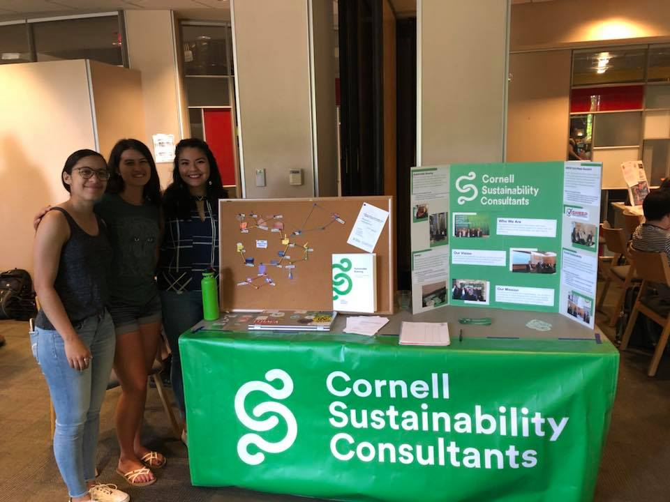 Fall Orientation - In Spring 2019, the CSC team worked to curate events centered around sustainability for the Fall 2019 Orientation. These events were intended for new students to increase exposure to various student groups on campus centered around sustainability, to educate students about sustainability, and to promote lifestyles that further Cornell's dedication to sustainability.