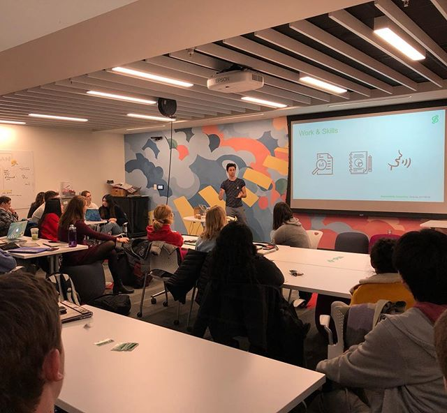 As part of an improved membership development program, CSC Founder Julien Morgan reflects on his experiences in the consulting industry while drawing parallels to the work we do at Cornell and in the state of NY. Events like this provide an opportunity for our consultants to realize their impact and further define their future careers.