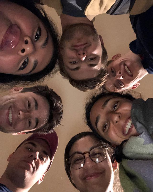 Silly photo from the last leadership meeting last night! Team leads making  big plans to pass the torch next semester. Exciting things in the works for the future of CSC