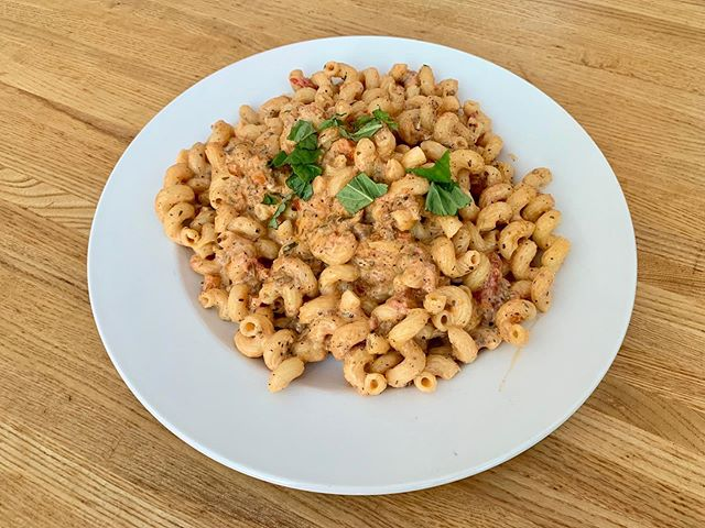TGIF!! Friday's Dinner Special:  Cavatappi Bolognese a la Vodka  #tgif #bolognese #dinnerspecial #eatlocal #supportlocal