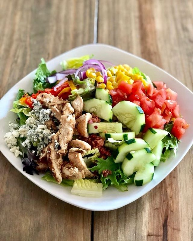 Come join us for lunch today at Arte Pizza! We are featuring a light and refreshing Cobb Salad 🥗  #lunchspecial #cobbsalad #eatlocal #supportlocal #downtownamelia