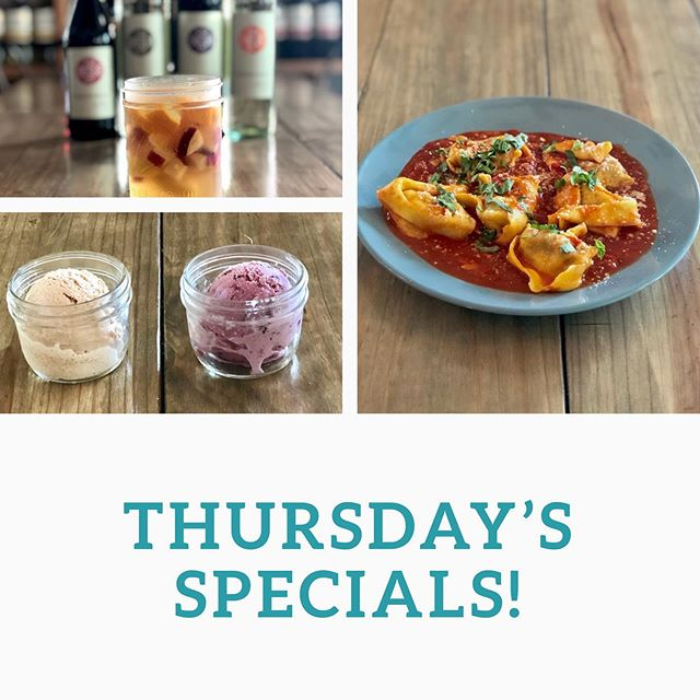 We have some fantastic specials for you tonight! We are featuring Veal Tortellini in Marinara Sauce, a refreshing tropical sangria and complete your dining experience with our NEW house made Gelato! Yes, you read that right! We are now making our own Gelato in house! Tonight we are featuring Honey Cinnamon 🍯 & Mixed Berry 🍓 #vealtortellini #sangria #gelato #dinnerspecial #eatlocal #supportlocal #itswhatsfordinner #comeseeus