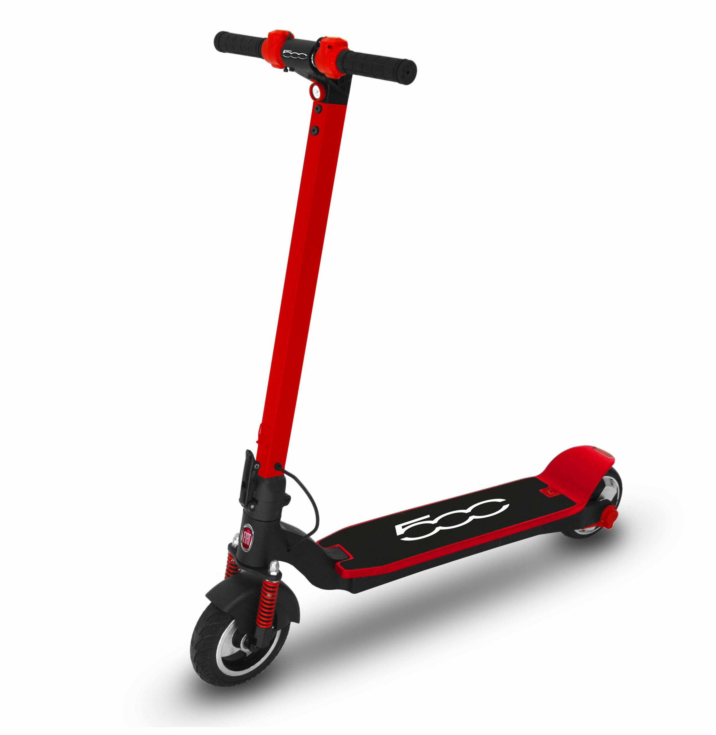 Urban E-Mobility - Electric scooters are becoming more and more popular. We are following the trend with the famous brands like FIAT 500.