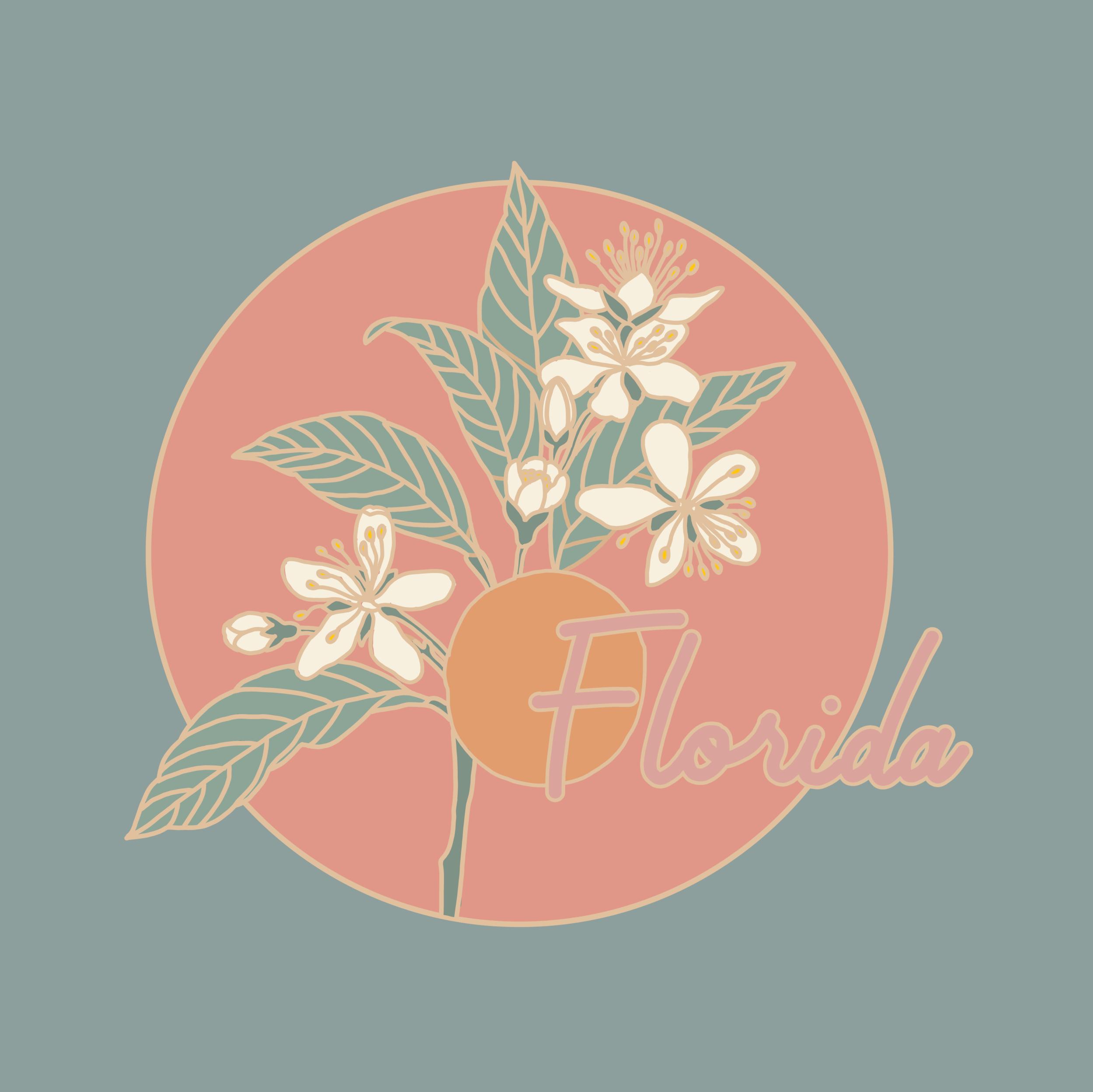 Custom Illustration - Florida