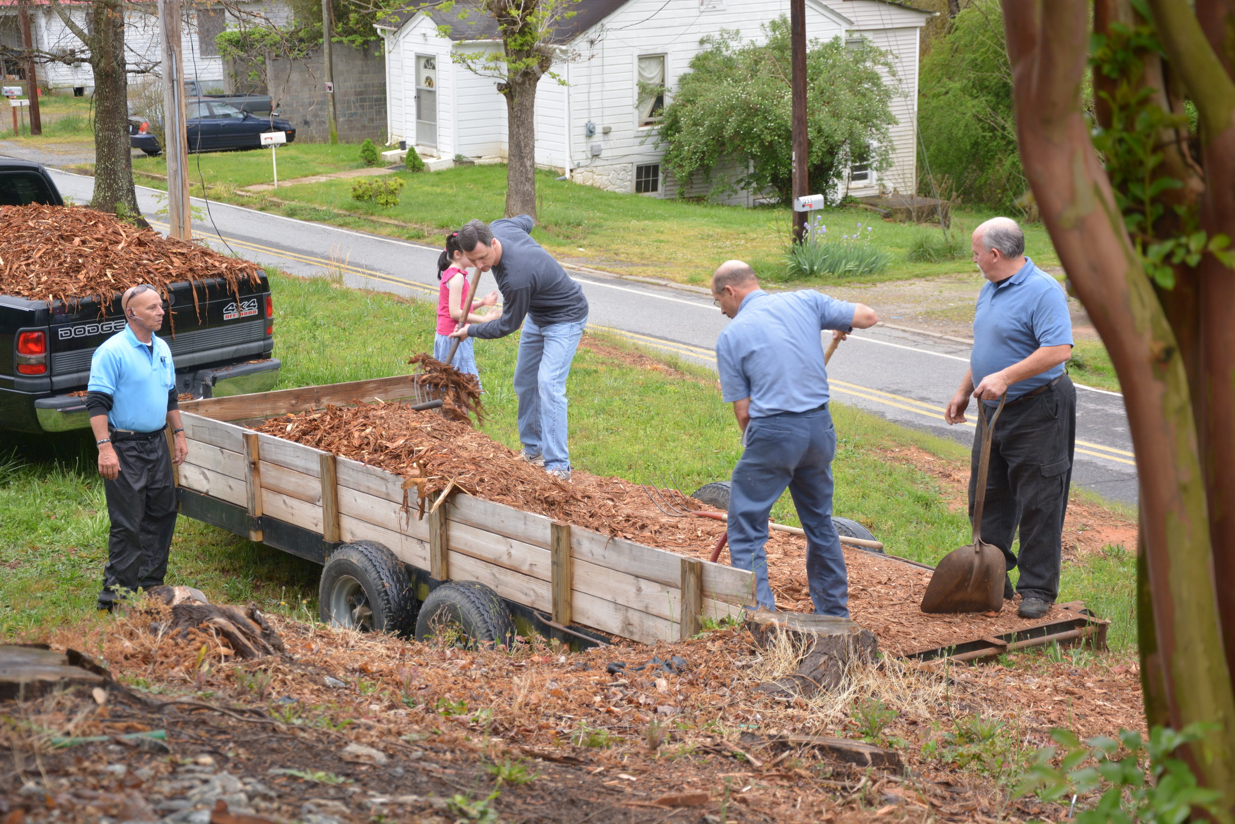 Church Spring Clean Up -