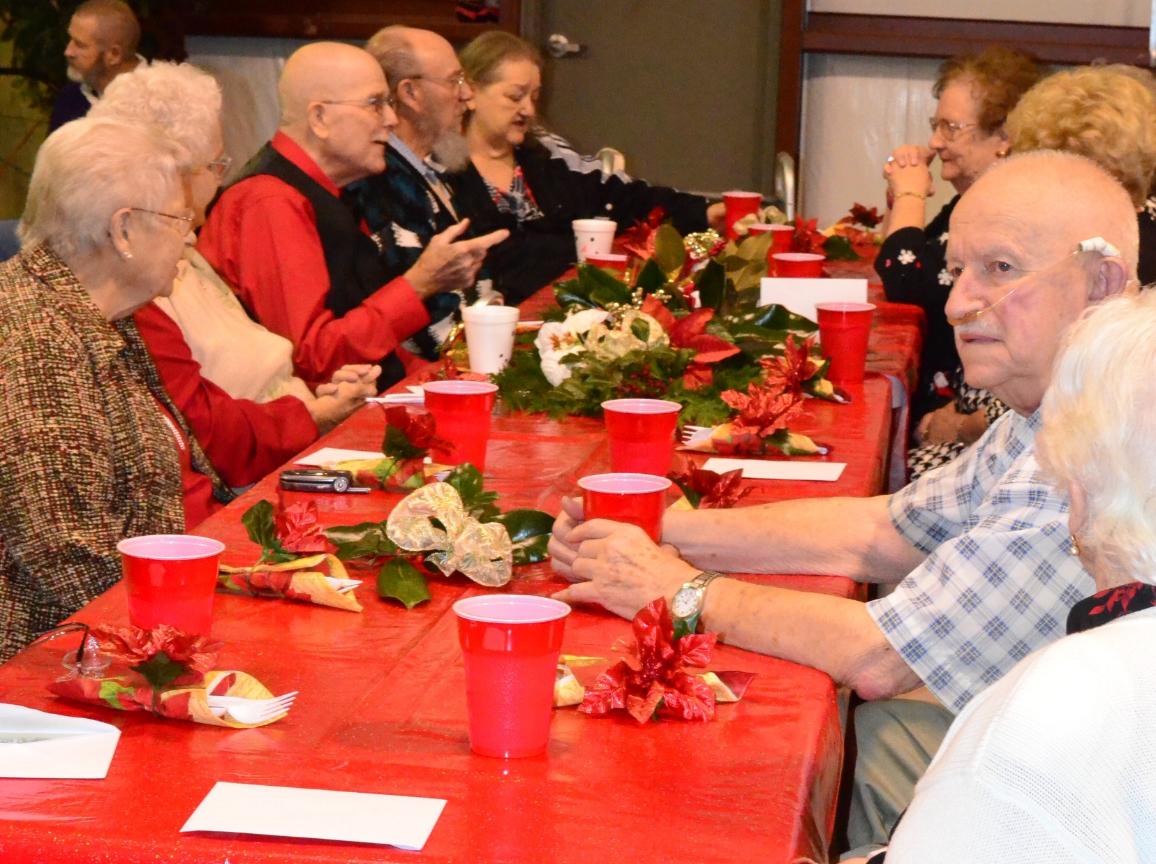 2013 Senior Saint Christmas -