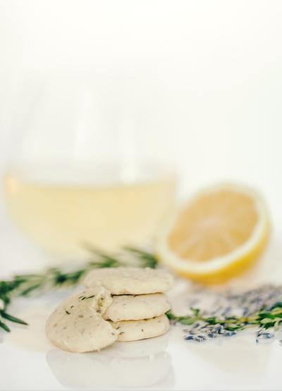 Lemon Sables with HDP