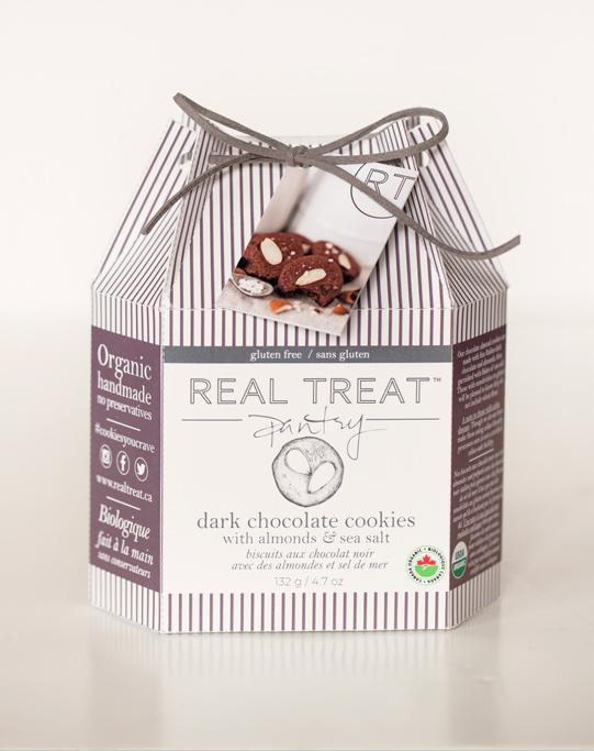 Dark Chocolate Cookies with Almonds and Sea Salt (Gluten-Free)