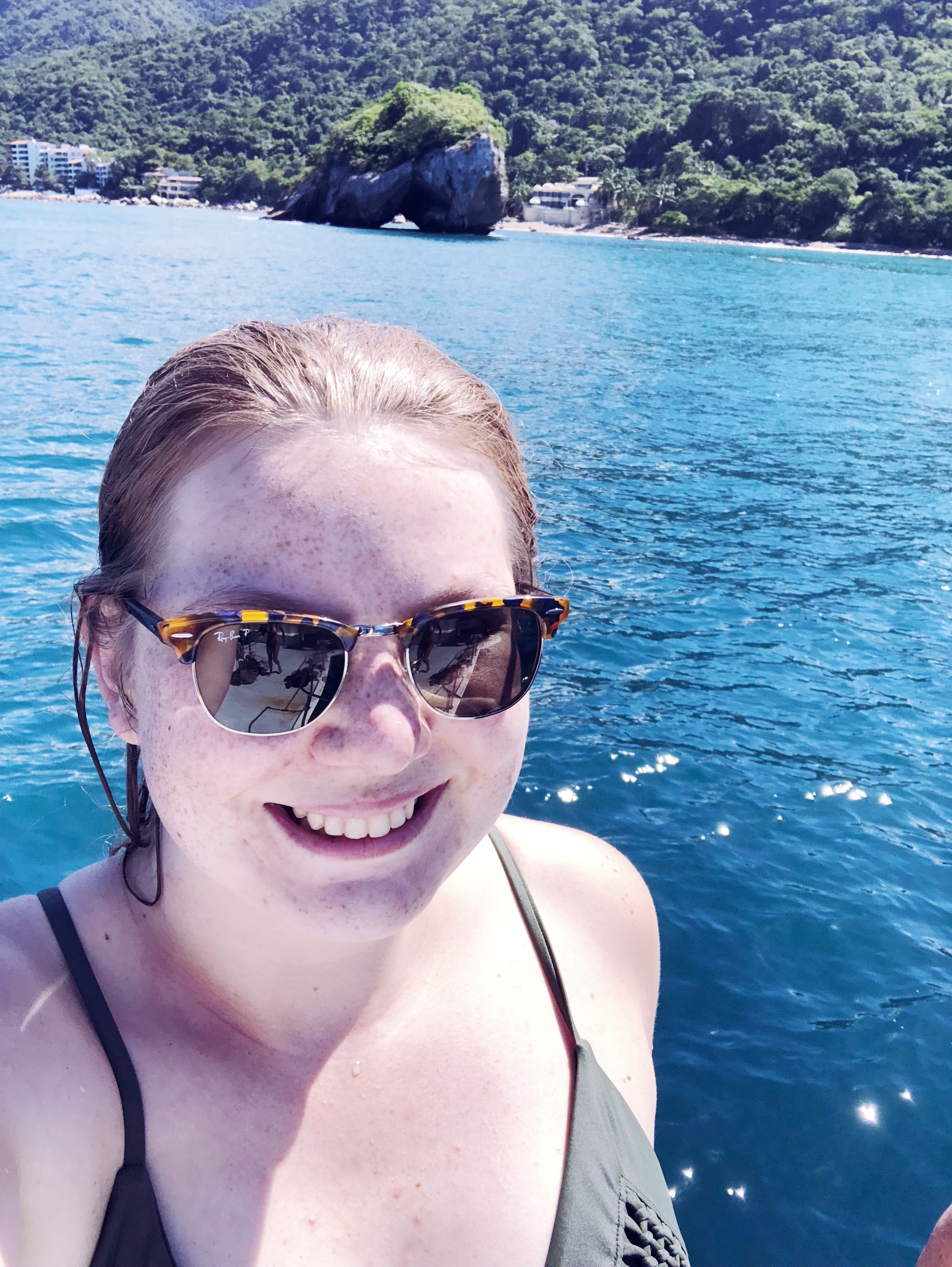 Took a snorkeling trip out to Los Arcos which is just south of Puerto Vallarta.