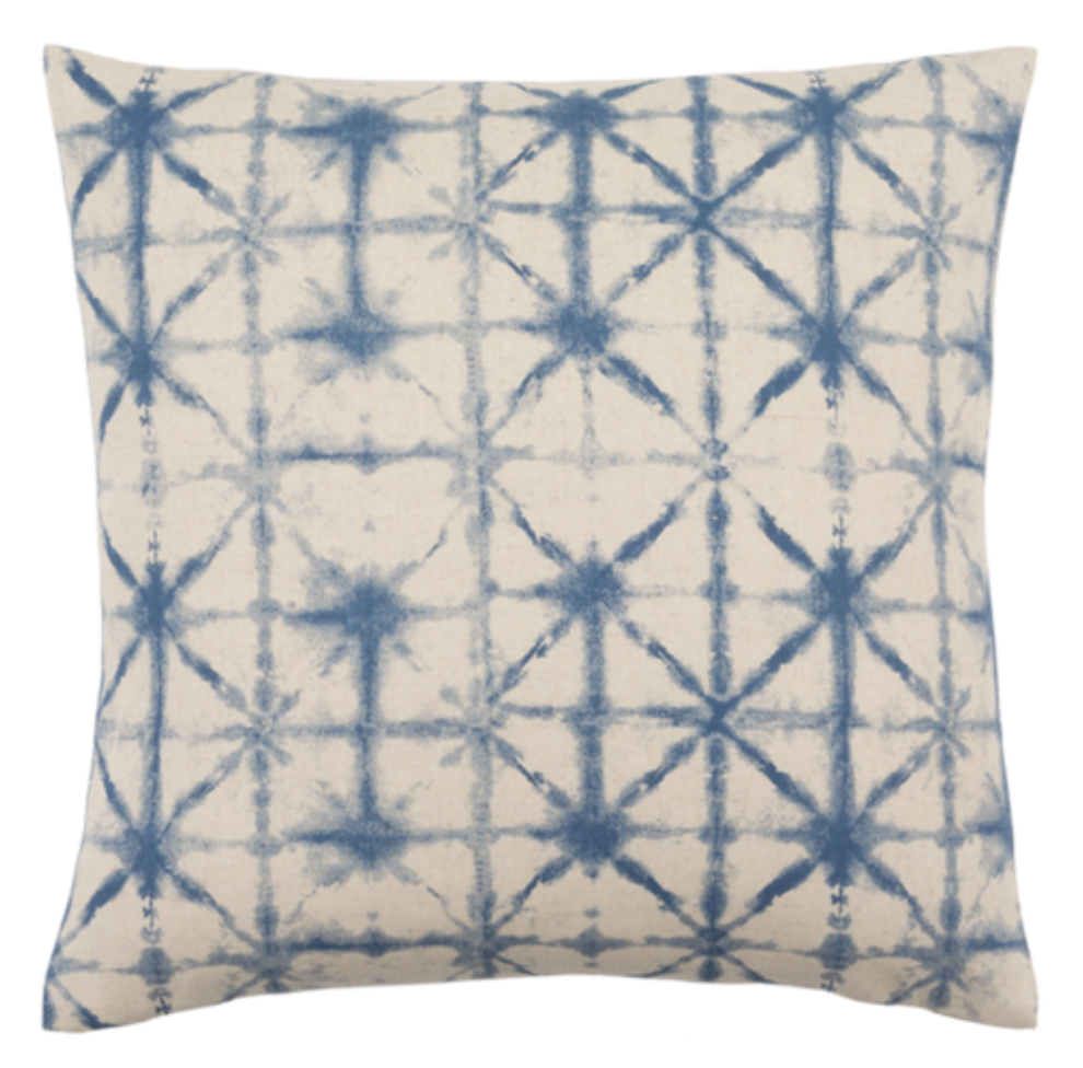 Photo courtesy of luluandgeorgia.com   Lulu and Georgia Shibori Luane Pillow - $36