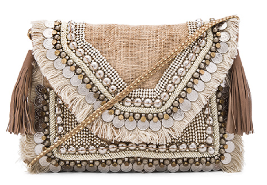 Photo courtesy of revolve.com   SHASHI Leela Clutch - $88