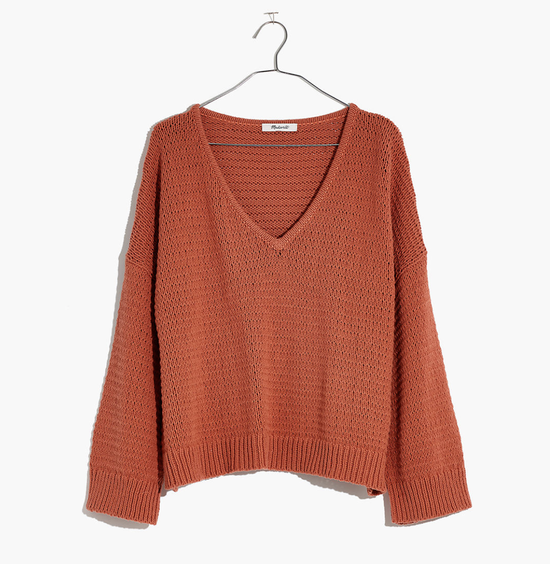 Photo courtesy of Madewell   Madewell Breezeway Pullover Sweater - $69.50