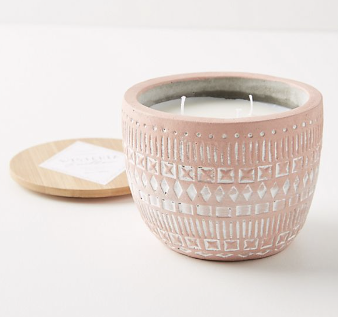Photo courtesy of Anthropologie   Anthropologie Paddywax Sonora Candle - $28