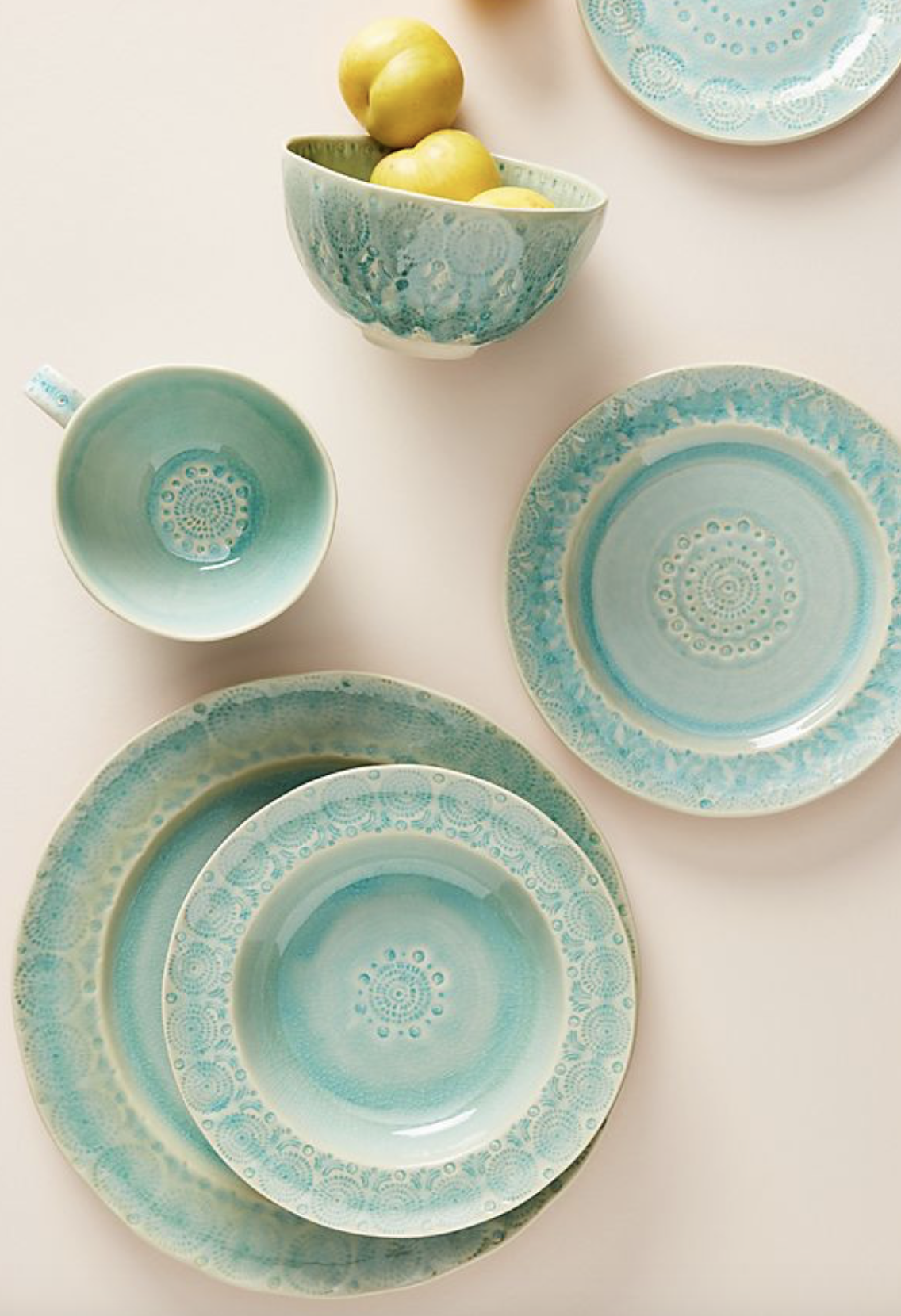 Photo courtesy of Anthropologie.   Anthropologie Old Havana Dinner Plates. Set of four - $72