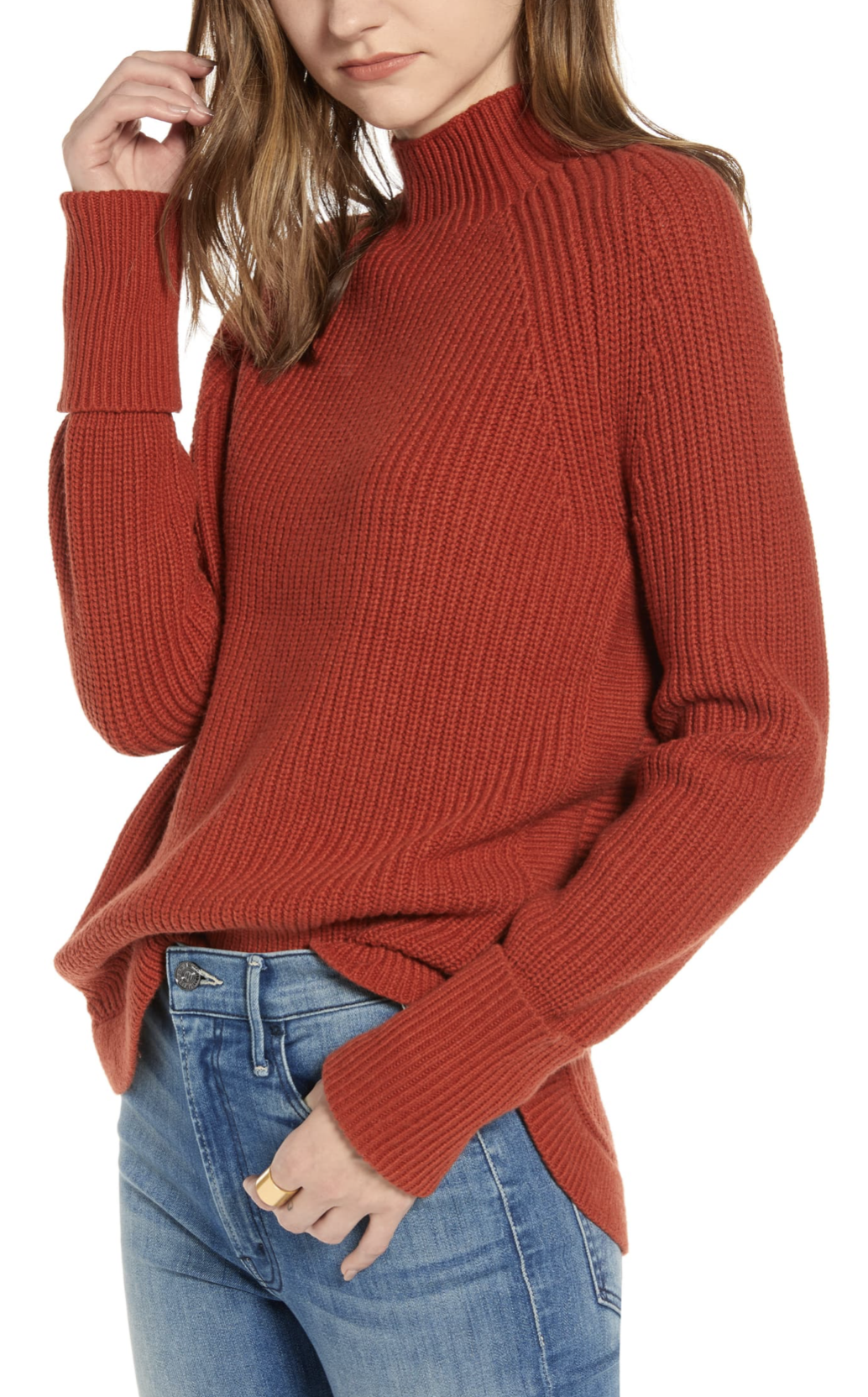 Treasure & Bond Mock Neck Sweater - $49.90