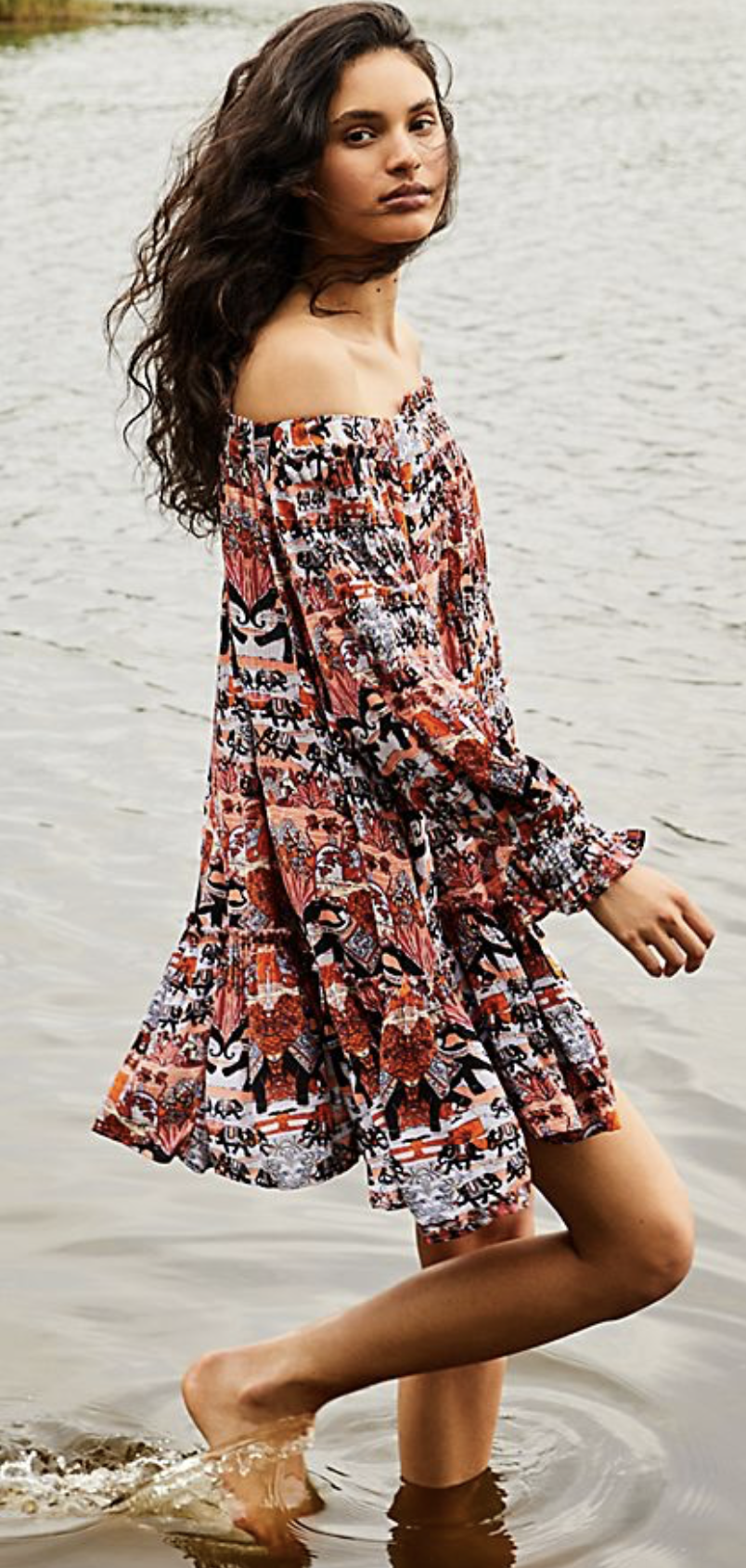 Photo courtesy of Free People.   Free People See Ya There Mini Dress - $98