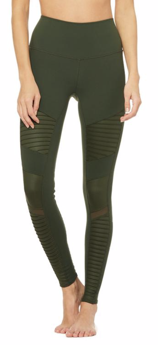 Photo courtesy of Alo Yoga   Alo Yoga High-Waist Moto Legging - $114
