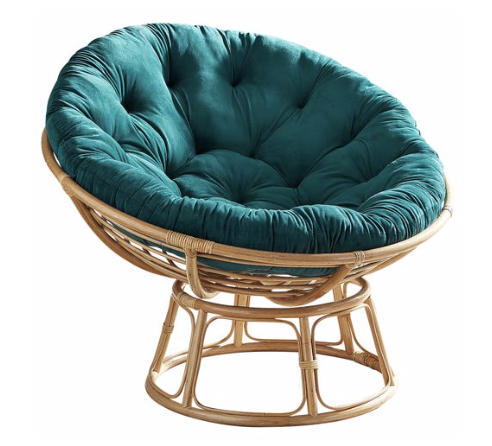 Photo courtesy of Pier 1   Pier 1 Papasan Taupe Chair Frame - $89.95