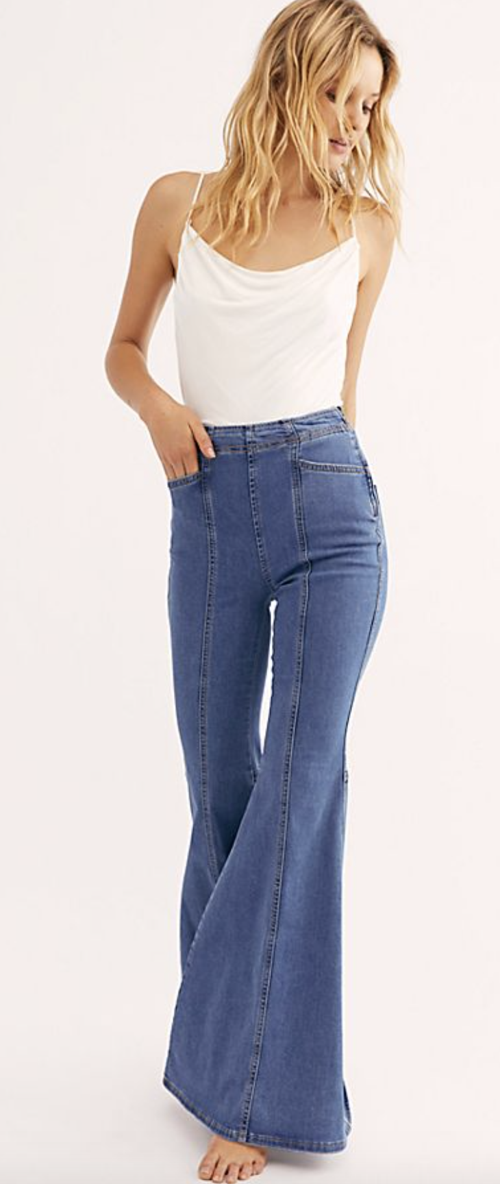 Photo courtesy of Free People.   Free People Know Me Better Flare Jeans - $98