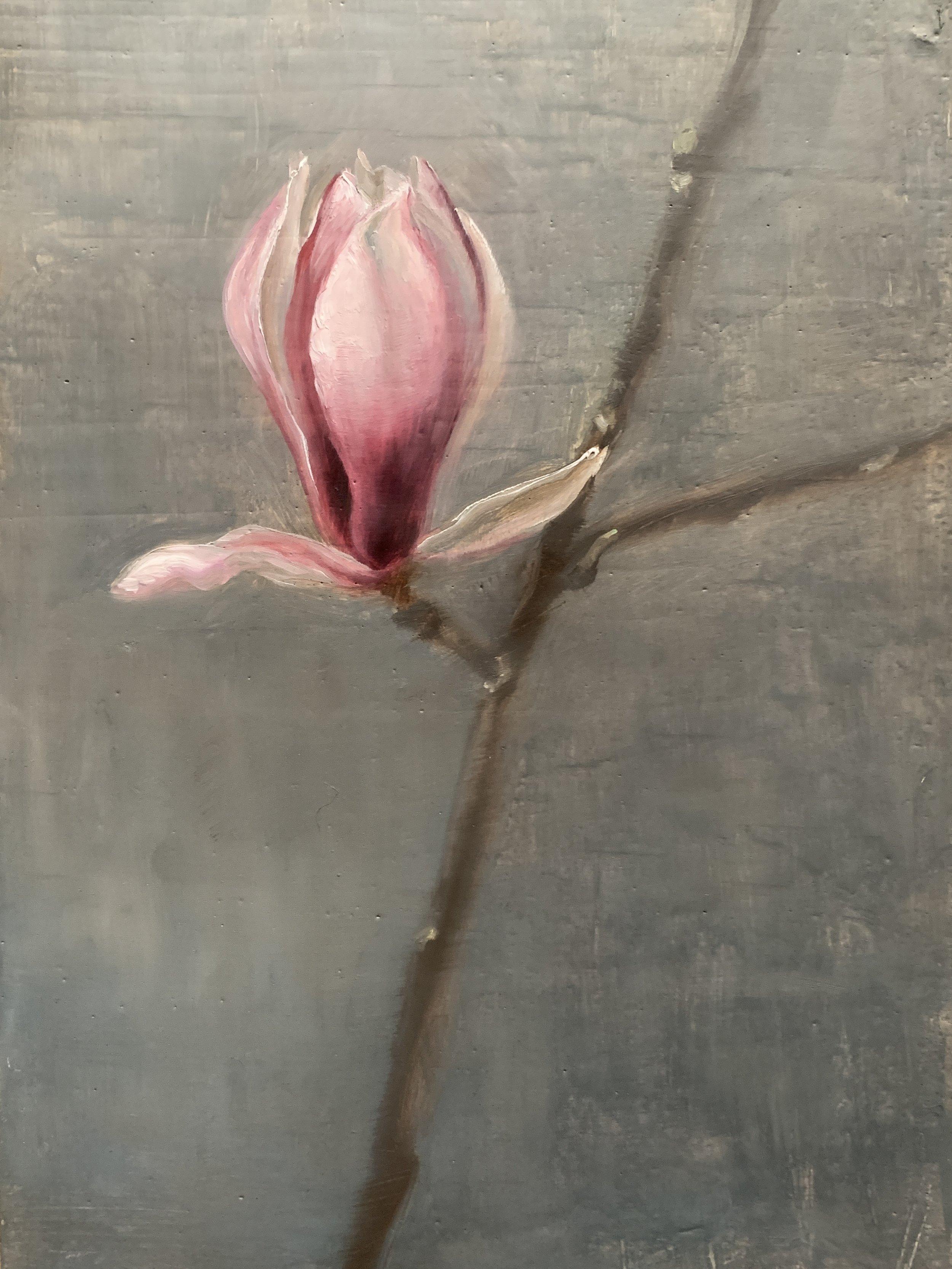 Magnolia Flower in Dancer Pose