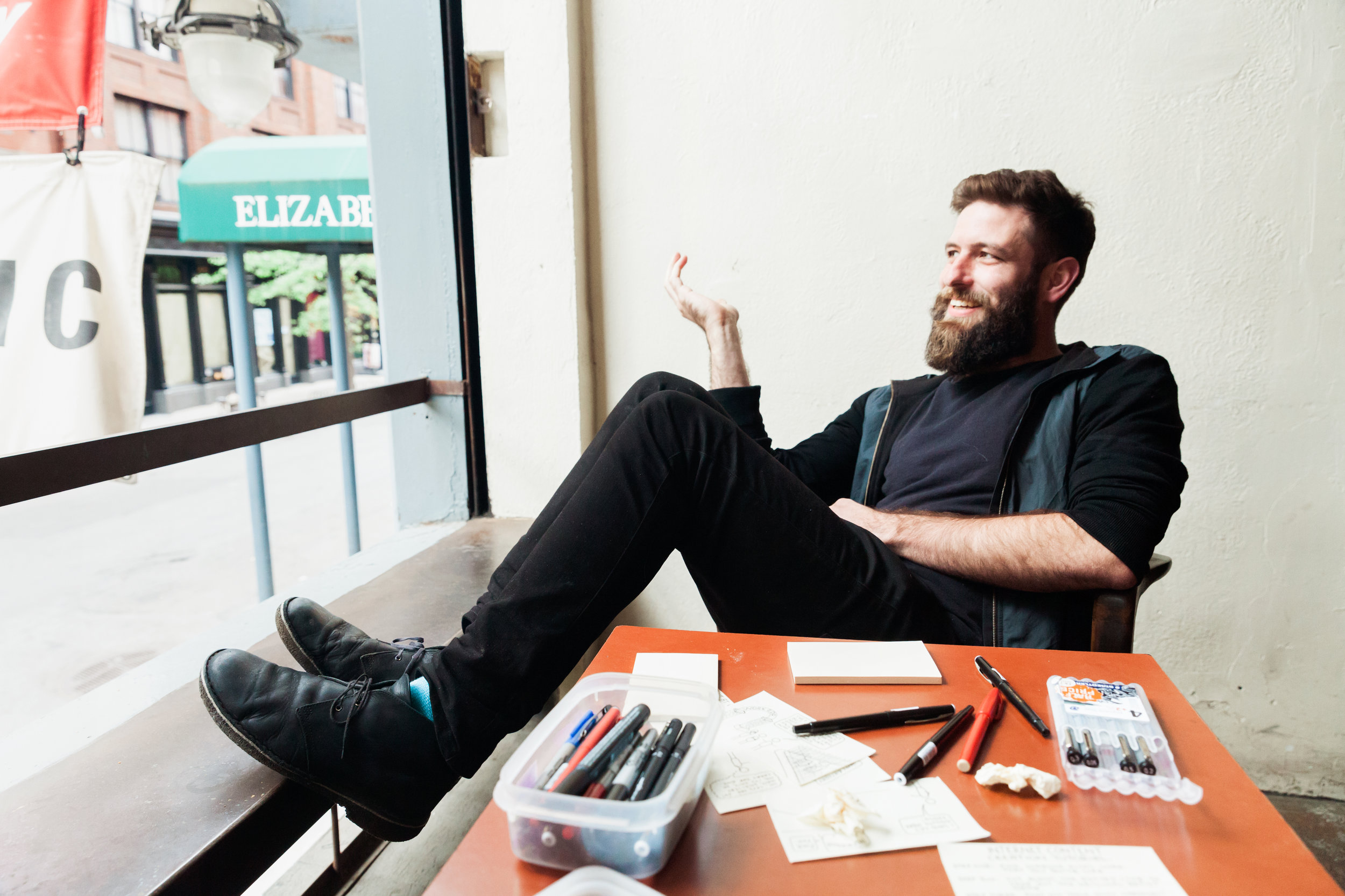 Chaz Hutton interview Extraordinary Routines