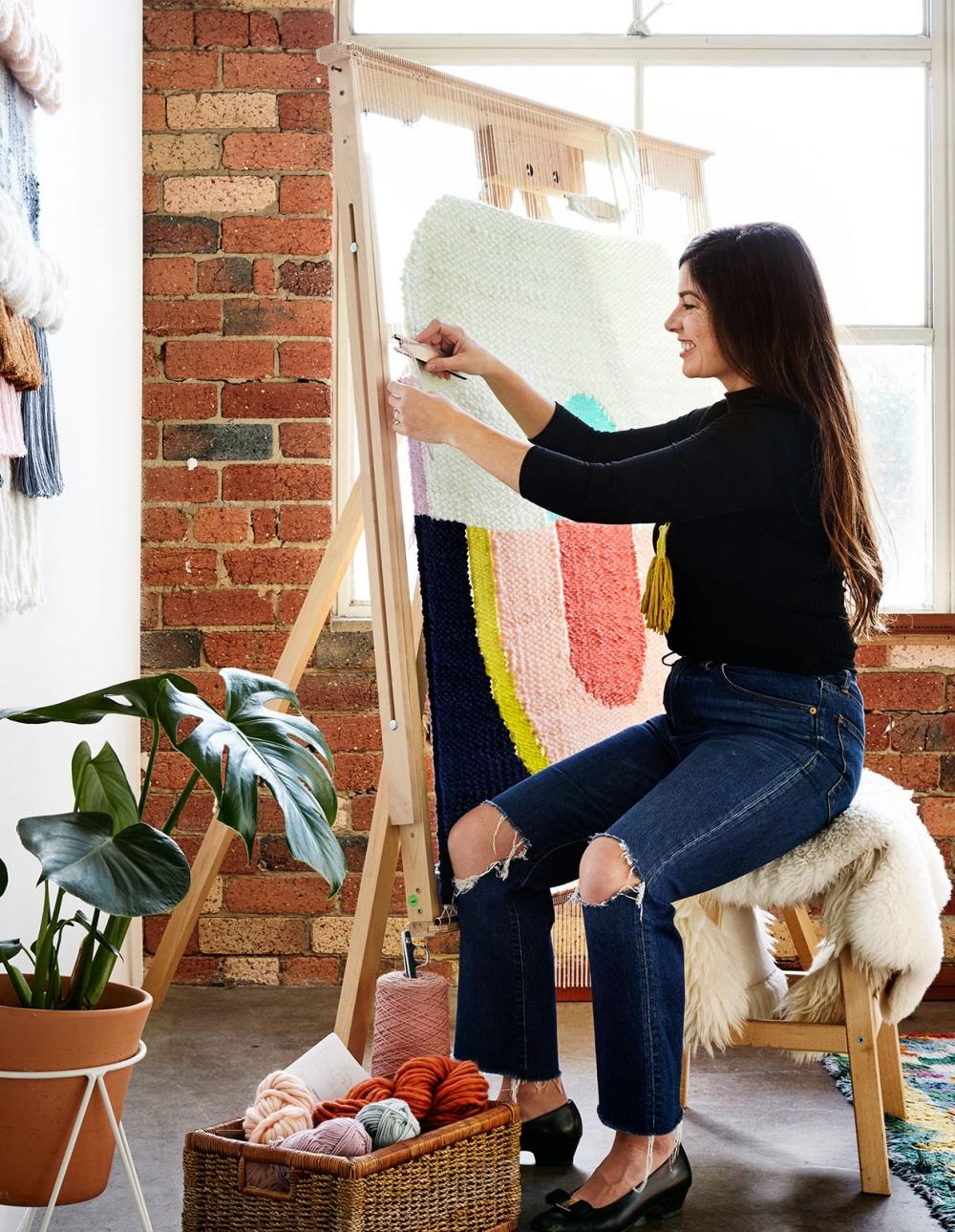maryanne moodie - Weaving artist