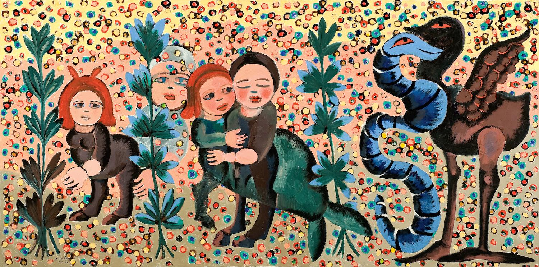 Mirka Mora,  In the Garden of Dreams , 1975-81