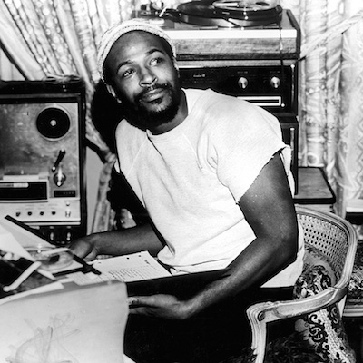 """""""What's Going On"""" is Marvin Gaye's most introspective album. Berry Gordy did not want him to record it but it is widely considered one of the greatest albums ever made. Much of it was inspired by the experiences of Marvin's brother, who served in Vietnam.  Photo: Gems/Redferns"""