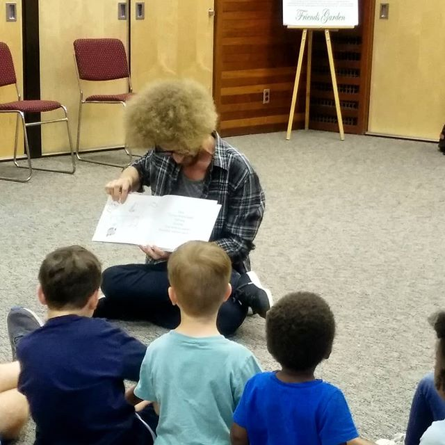 #storytime in #chestnuthillpa was a blast. I was a little emotional as people arrived...but I pulled it together and all the kids participating made it amazing!