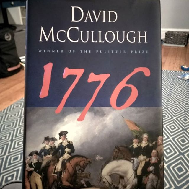 My passion for Revolutionary War history is well known among my friends. What great books are you reading or have you read that embody the spirit of this holiday?