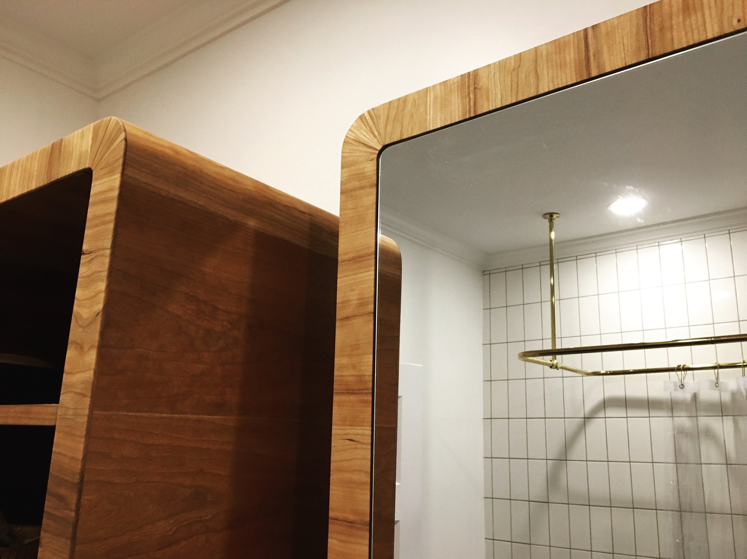 Davis/Derewlany Cabinet and Mirror