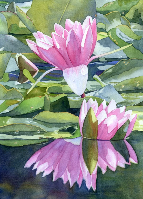 Monet Reflections © Lorraine Watry