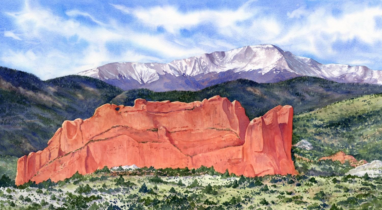 Colorado Springs View © Lorraine Watry