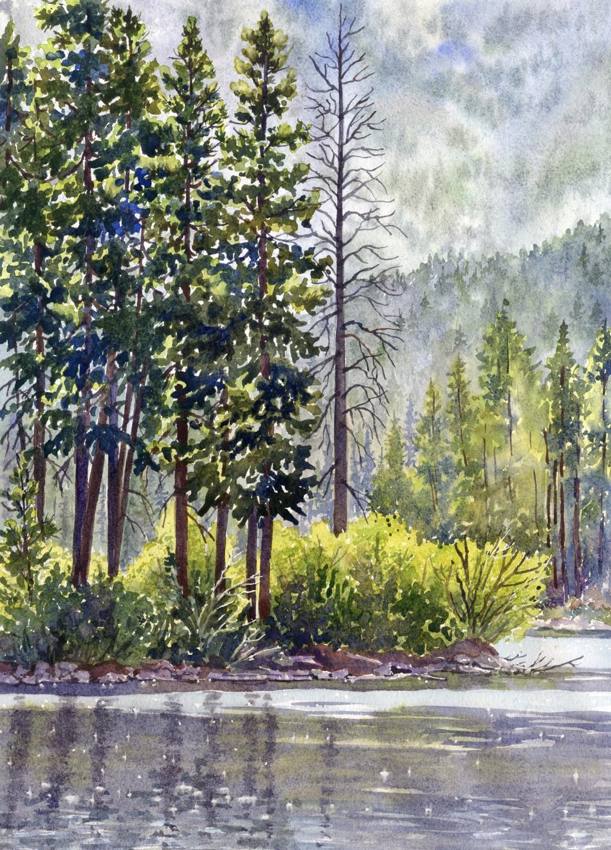 Early Morning Grand Lake © Lorraine Watry
