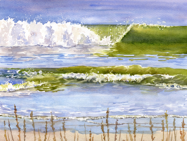 South Carolina Waves © Lorraine Watry