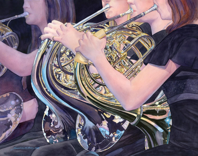 Sonata for Horns © Lorraine Watry