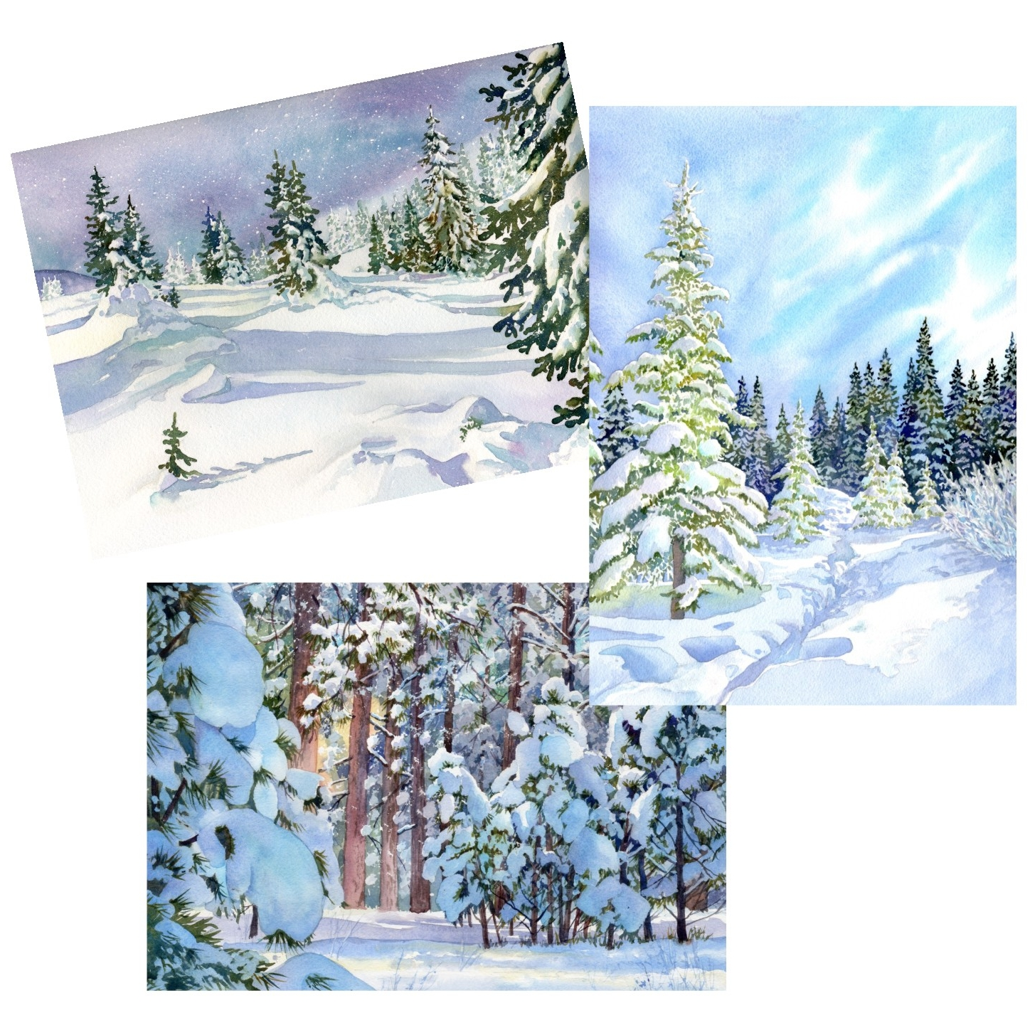 blank-note-cards-snow-scene-prints-lorraine-watry