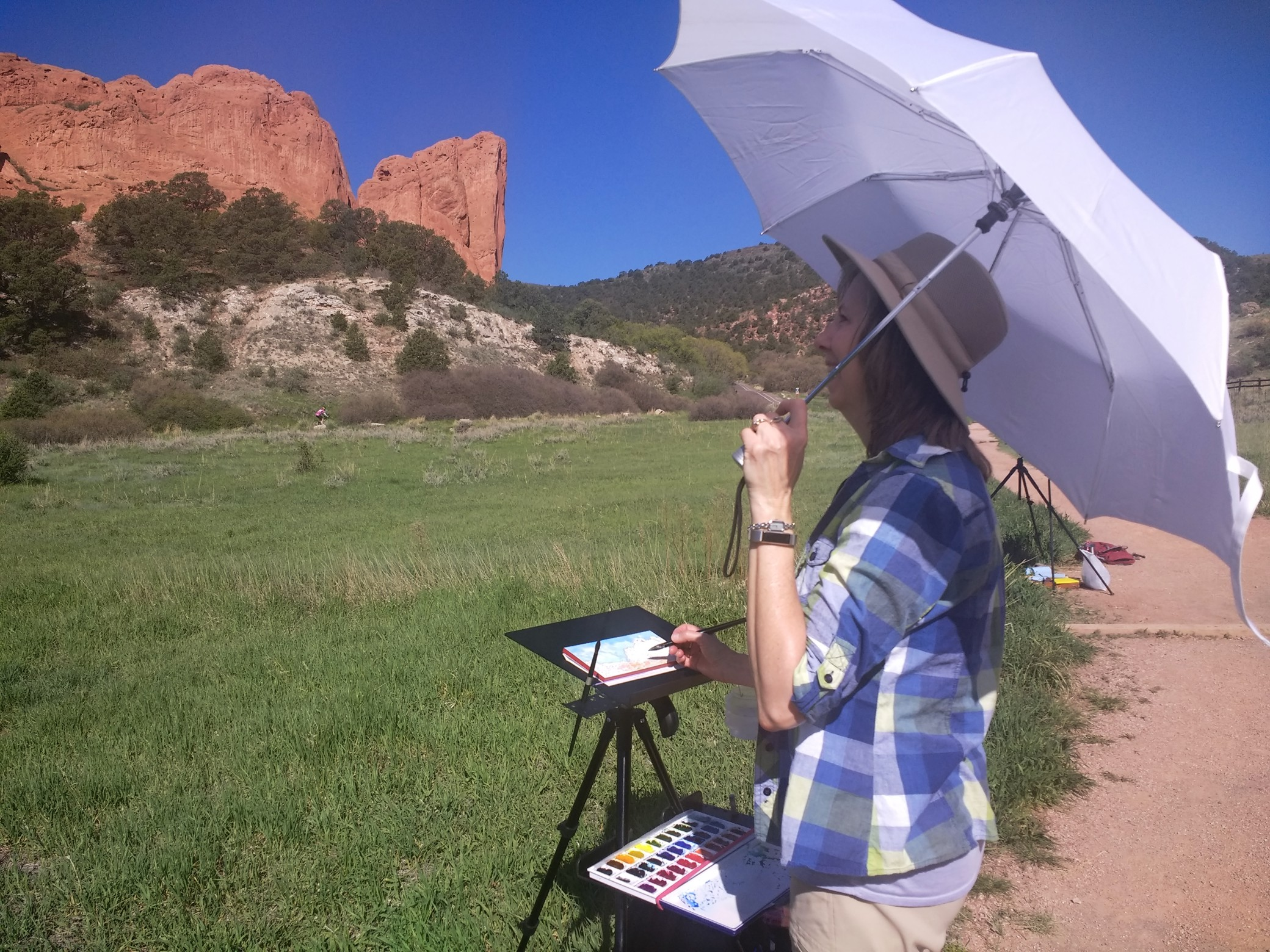 First excursion of the summer was to Garden of the Gods in Colorado Springs.