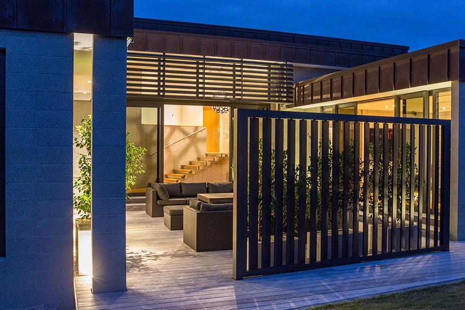 light timber deck Port Macquarie Port Patios