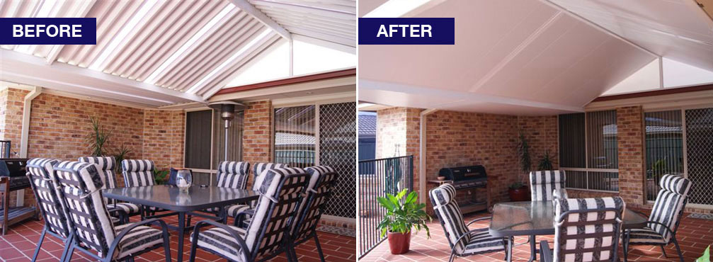 Ceilink - Is your outdoor room or verandah too hot or too cold?
