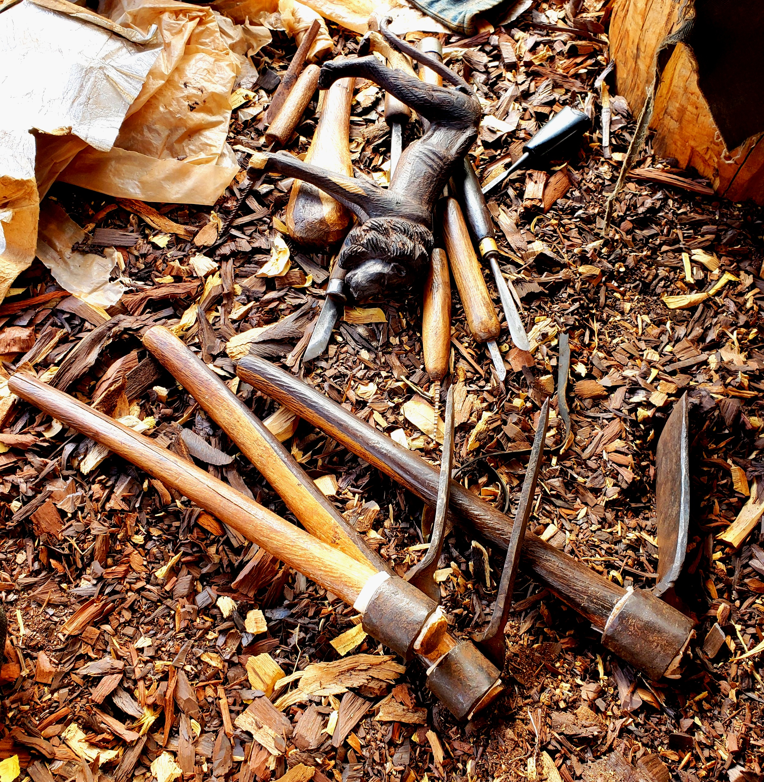 Wood Carvers Co-Op, Kenya