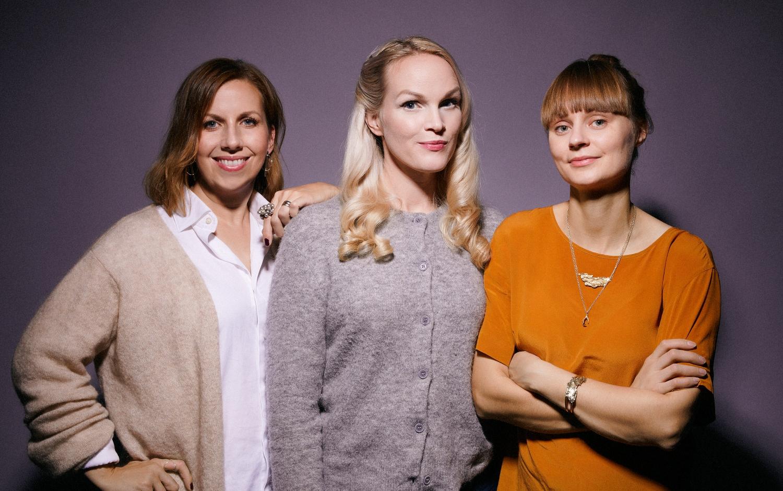 Fotograf: Emily Dahl Från vänster: Maria Soxbo, Emma Sundh, Johanna Nilsson