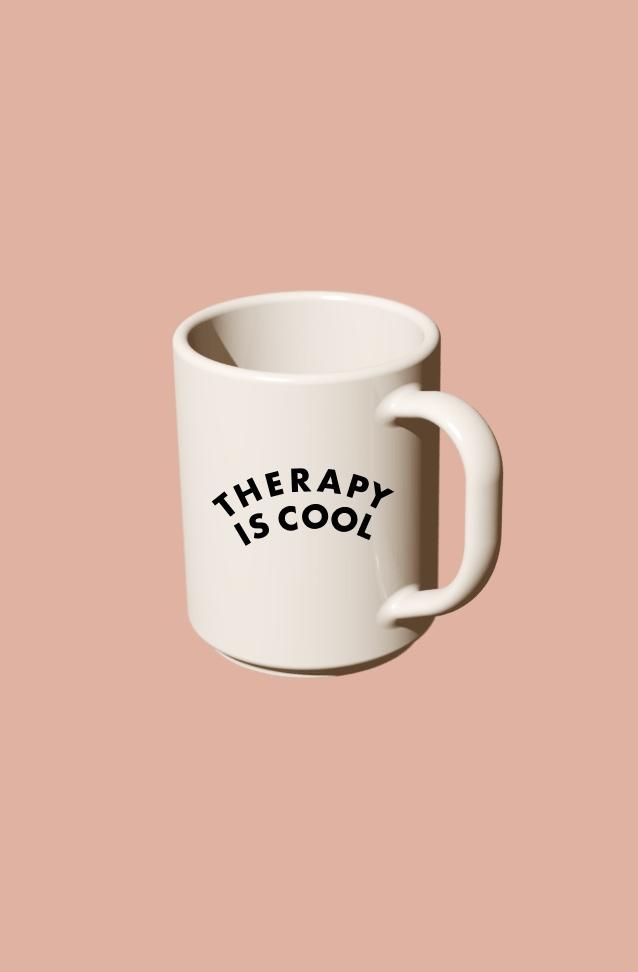 THERAPY IS COOL MUG| $12 -