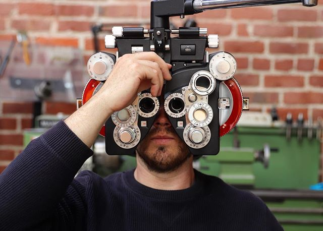 Now offering amateur eye exams.