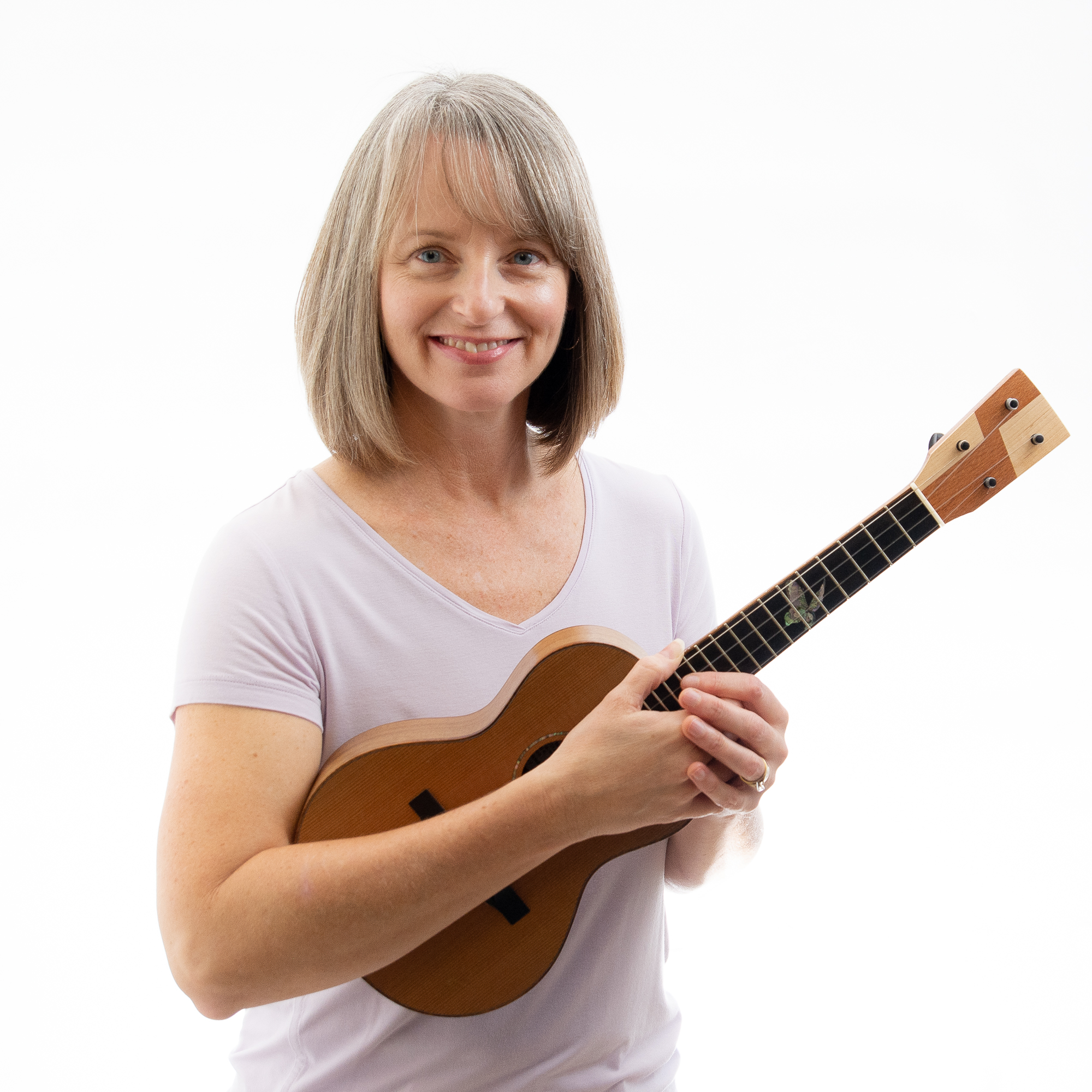 """I really began to understand music after I picked up the ukulele. It's all there, in your hands, and it's portable!"" - - Chantal LeBlanc"